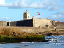 Carcavelos Fortress (Cascais, Portugal) Stock Images