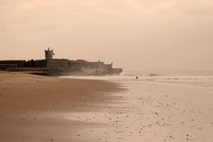 Carcavelos's beach Stock Image