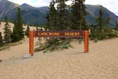 Έρημος Carcross, Carcross, Yukon, Καναδάς Στοκ φωτογραφία με δικαίωμα ελεύθερης χρήσης