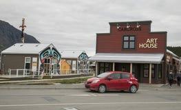 Carcross, Yukon-Grondgebied Royalty-vrije Stock Fotografie