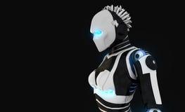 Carácter androide Fotografía de archivo libre de regalías