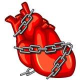Cardíaco de ataque Imagens de Stock Royalty Free