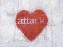 Cardíaco de ataque Imagem de Stock Royalty Free