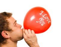 Cardíaco de ataque dos Valentim Fotografia de Stock Royalty Free