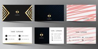 Realistic detailed business card set. Vector illustration design. Realistic detailed business card set. Vector illustration design EPS10 vector illustration