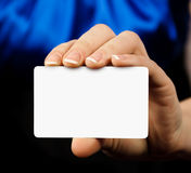 Card Royalty Free Stock Image