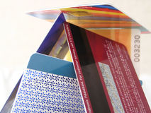 Card. Plastic cards, credit cards