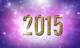 2015 card Royalty Free Stock Photo