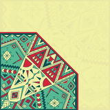 Card with an abstract pattern Royalty Free Stock Photography