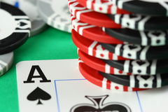Card ace Stock Image