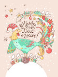 Card_angel рождества Стоковое фото RF