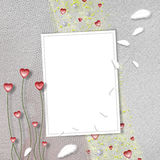 Card for anniversary or congratulation Royalty Free Stock Images