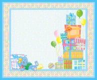 Card for baby. Stock Photos