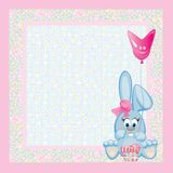 Card for baby. Stock Images