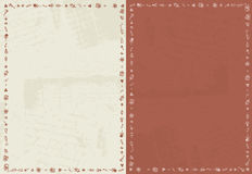 Card background with christmas ornament Royalty Free Stock Photography