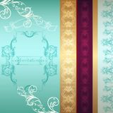 Card or background in luxury style Royalty Free Stock Image