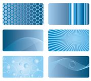Card backgrounds Stock Image