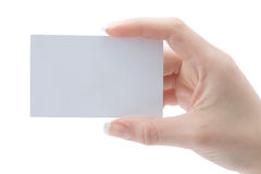 A card blank Royalty Free Stock Images