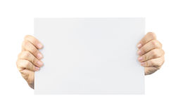 Card blank in Royalty Free Stock Image