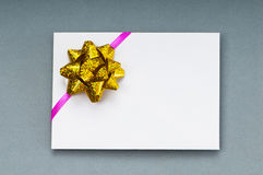 Card with blank space for  text Royalty Free Stock Photos
