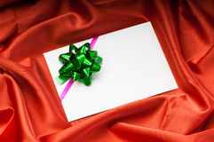 Card with blank space for  text Royalty Free Stock Photography