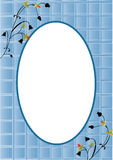 Card blue Stock Image