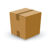 Card board box Stock Images