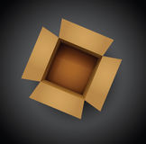 Card board box Royalty Free Stock Images