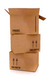 Card board boxes Royalty Free Stock Photo