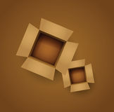 Card board boxes Royalty Free Stock Images