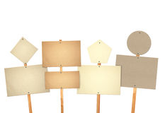 Card boards Stock Photo