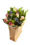 Card bouquet Stock Photos