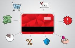 Card capabilities royalty free stock image