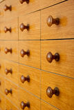 Card catalog Stock Images