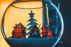 card celebrating christmas imaginations new winter years Στοκ εικόνες με δικαίωμα ελεύθερης χρήσης