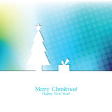 card celebrating christmas imaginations new winter years Στοκ εικόνα με δικαίωμα ελεύθερης χρήσης