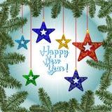 card celebrating christmas imaginations new winter years Στοκ φωτογραφία με δικαίωμα ελεύθερης χρήσης