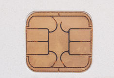 Card chip Royalty Free Stock Photo