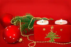 card christmas Στοκ Φωτογραφία