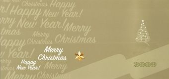 card christmas Στοκ φωτογραφίες με δικαίωμα ελεύθερης χρήσης
