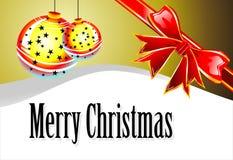 card christmas Стоковая Фотография