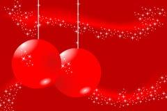 card christmas red Στοκ φωτογραφία με δικαίωμα ελεύθερης χρήσης