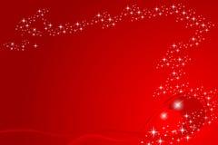 card christmas red Στοκ Εικόνα
