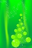 card christmas tree Στοκ εικόνες με δικαίωμα ελεύθερης χρήσης