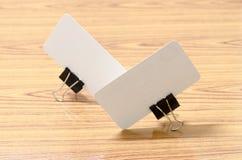 Card and clip design Stock Photos