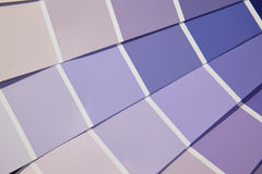 Card color palette in purple tones. royalty free stock image