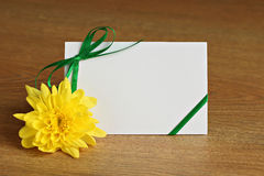 Card for congratulation Royalty Free Stock Photography