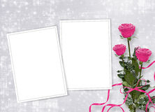 Card for congratulation or invitation Royalty Free Stock Images