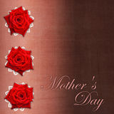 Card for congratulation  for Mother`s day Royalty Free Stock Photo
