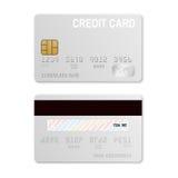 card credit template 免版税库存图片